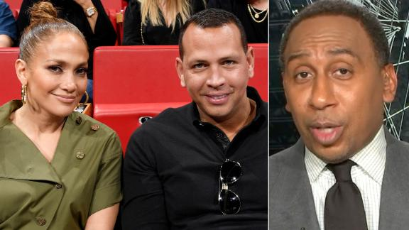 Stephen A. 'desperately' wants A-Rod and J-Lo to buy the Mets