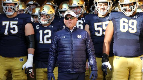 Brian Kelly is confident Notre Dame will play football this season