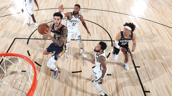 Pelicans blow out Nets in scrimmage