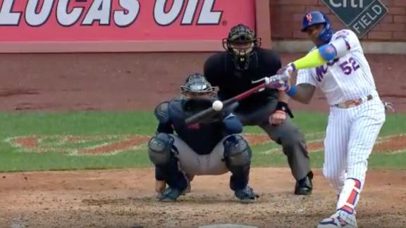Yoenis Cespedes goes yard for first time since 2018