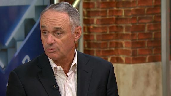 Manfred: 'We think we can keep people safe and continue to play'