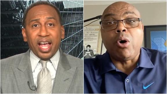 Stephen A. and Barkley feud over Giannis vs. LeBron