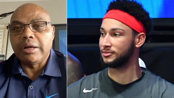 Barkley explains how Simmons can become a superstar