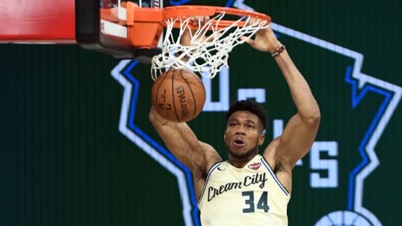 Giannis in MVP form as Bucks take down Celtics
