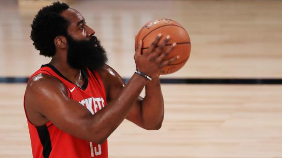 Harden passes Murphy for 2nd in Rockets scoring history