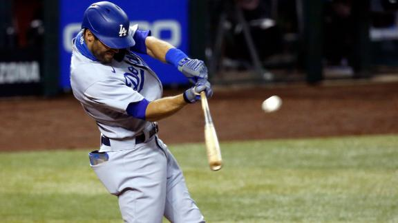 Rios, Beaty, Pollock, Taylor homer for Dodgers