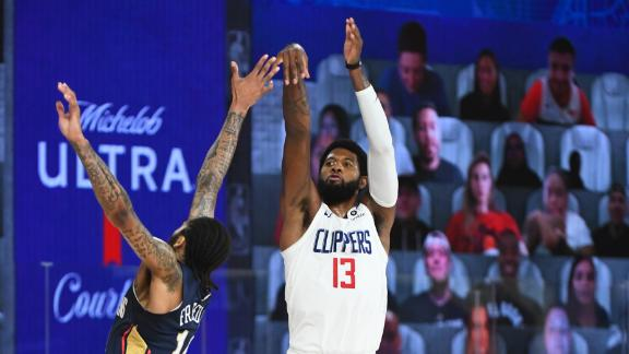 Clippers make it rain with 25 3-pointers vs. Pelicans