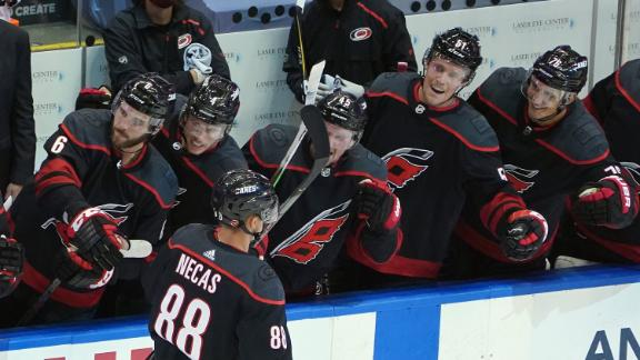 Hurricanes take down Rangers in first game of NHL restart