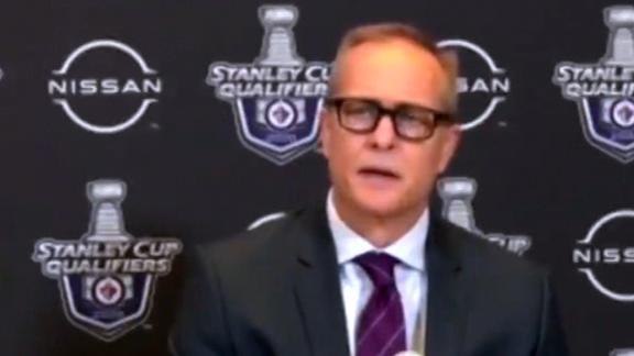 Jets coach sounds off on Tkachuk's hit on Scheifele
