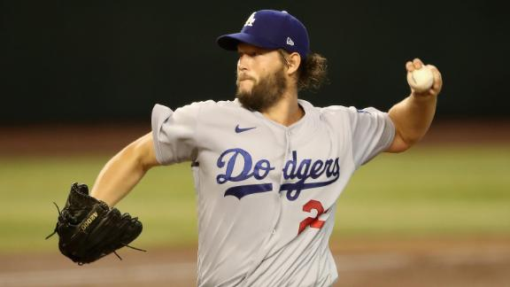 Kershaw's strong season debut results in Dodgers win