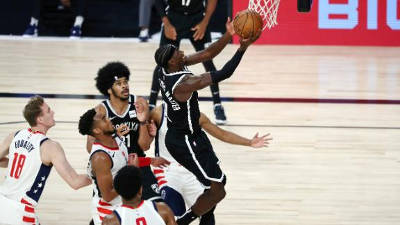Levert's 34 points lead the Nets past the Wizards