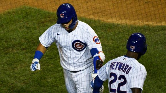 Cubs use long ball to win 5th straight