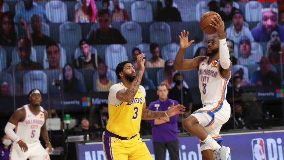 CP3 paces Thunder to upset win over Lakers