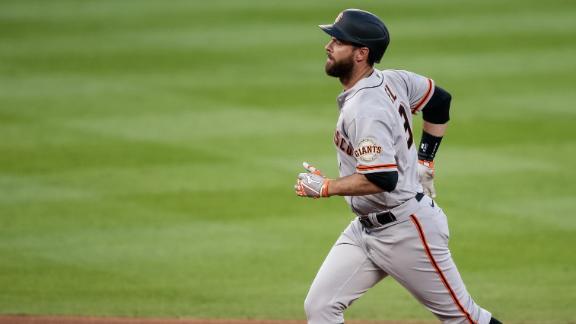Belt's 3-run homer the difference maker for Giants