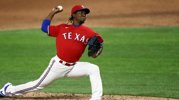 Montero strikes out Trout to lift Rangers over Angels
