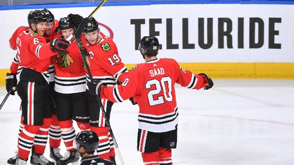 Blackhawks advance with win over Oilers