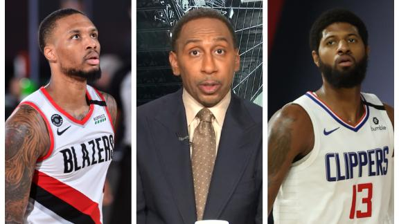 Dame or PG13? Stephen A. declares which player faces more pressure