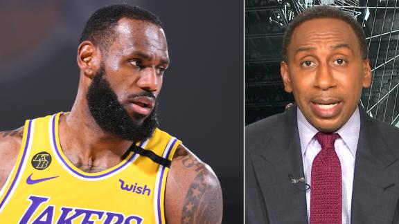 Did Lakers' win vs. Nuggets alleviate Stephen A.'s concerns? 'Hell no'