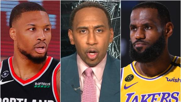 Should the Lakers be scared of the Blazers? Stephen A says 'hell yes'