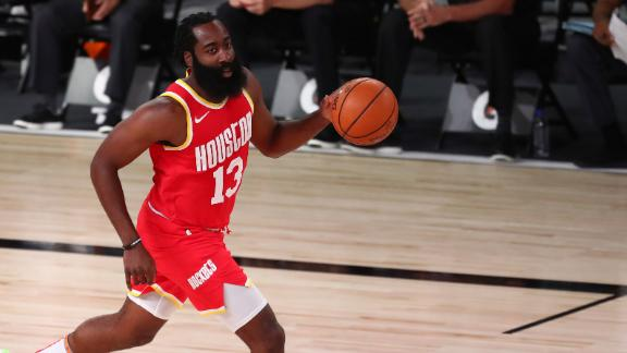 Harden drops 45 points, 17 rebounds in loss to Pacers
