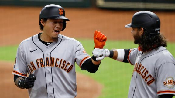 Giants rally to top Astros in 10 innings