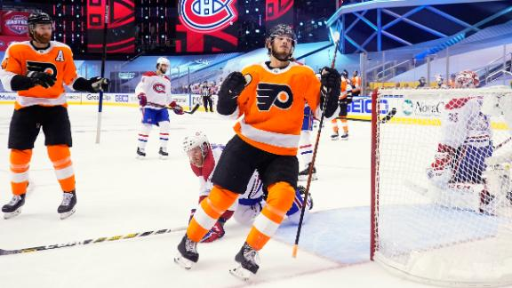 Farabee's tiebreaking goal lifts Flyers past Canadiens