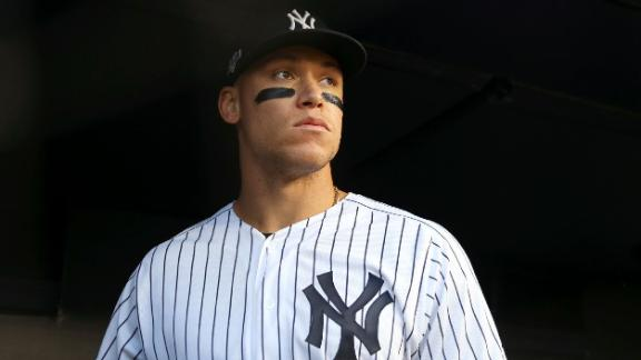 With unmatched size and power, Aaron Judge is becoming the face of baseball