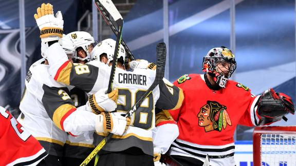 Golden Knights take commanding 3-0 series lead over Blackhawks