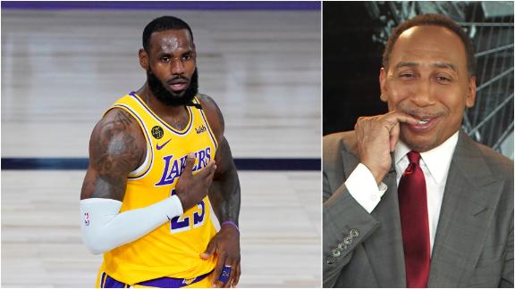 Stephen A. 'incredibly nervous' about Lakers' title chances
