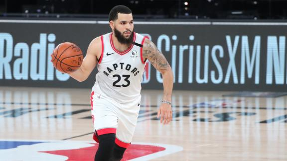 Fred VanVleet puts on 3-point clinic in Game 1 win over Nets