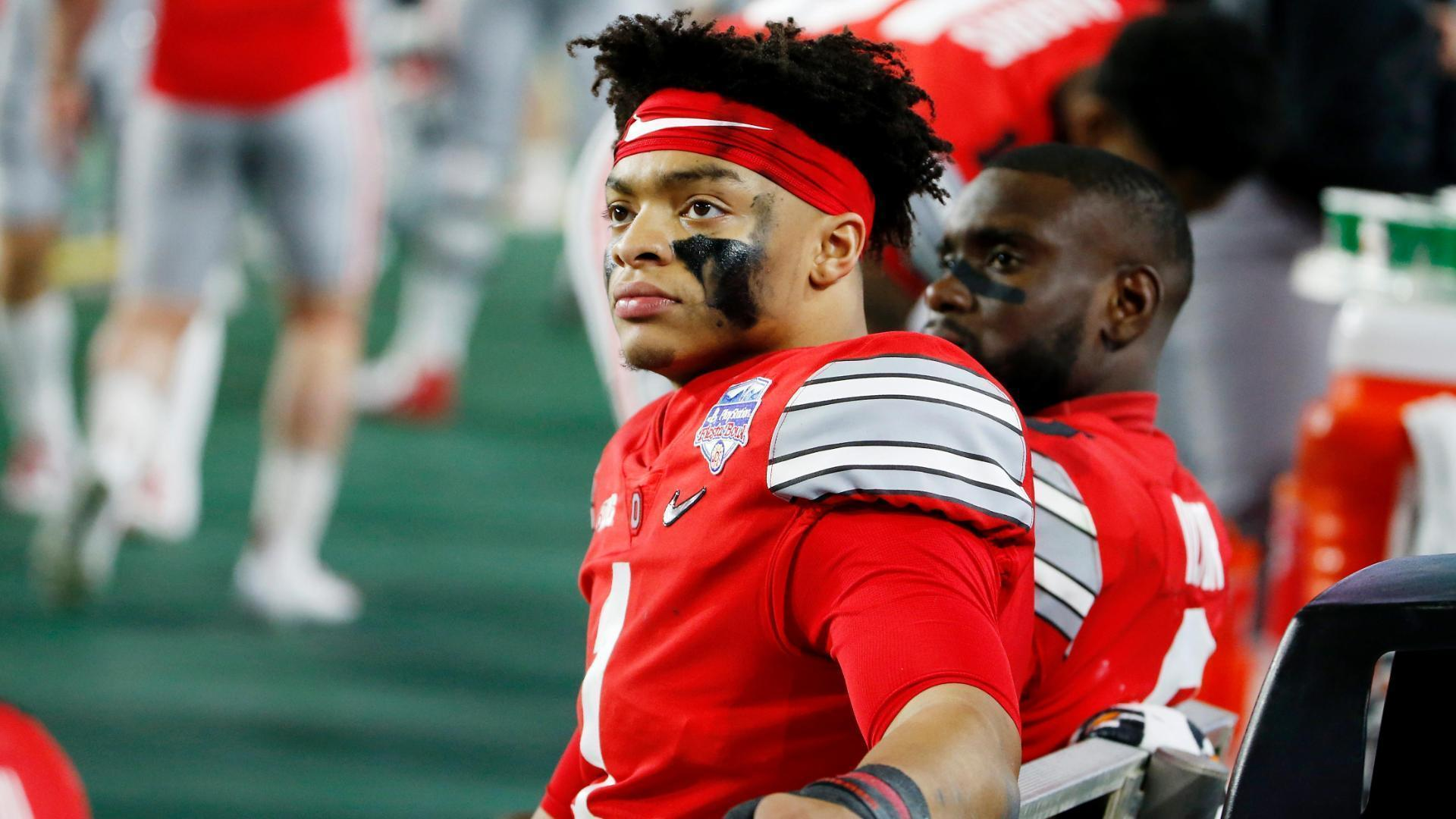 OSU's Fields continues fight for Big Ten season
