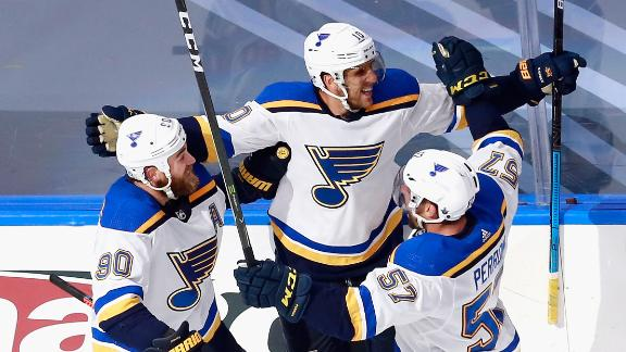 Schenn scores OT winner as Blues top Canucks