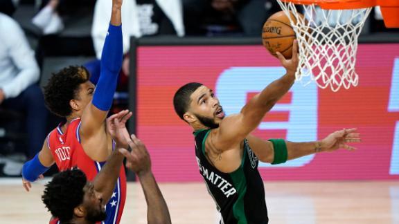 Tatum leads Celtics to Game 1 win vs. Sixers