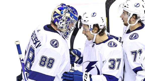 Lightning take 3-1 series lead vs. Blue Jackets