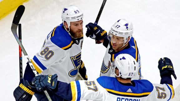 O'Reilly scores twice as Blues even series with Canucks