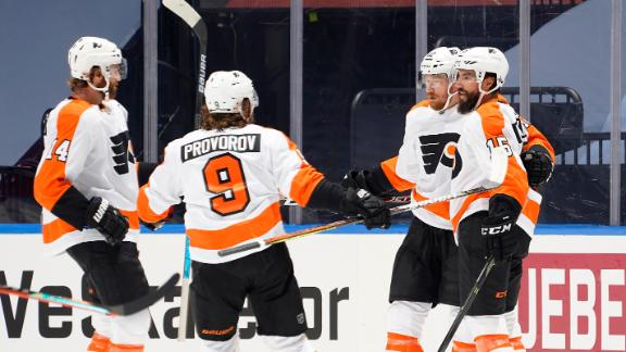 Flyers blank Canadiens to extend series lead