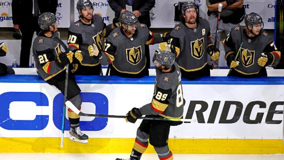 Tuch nets go-ahead goal as Golden Knights top Blackhawks