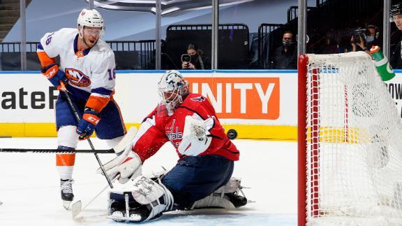 Beauvillier scores twice as Islanders eliminate Capitals