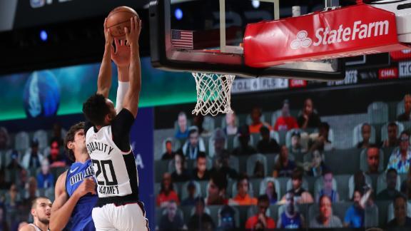 Shamet rips home dunk past Boban
