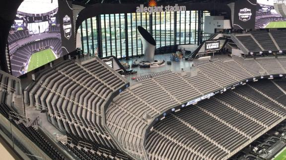A look inside the Las Vegas Raiders' new Allegiant Stadium