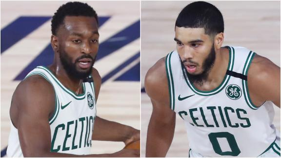 Kemba and Tatum go for 60, sweep 76ers out of playoffs