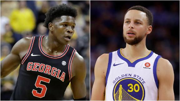 What would the top NBA draft prospects look like on the Warriors?