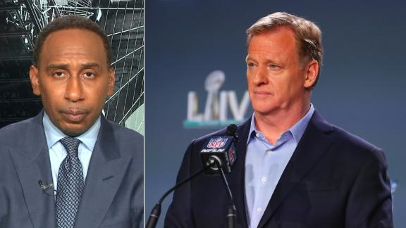 Stephen A. doesn't believe Goodell owes Kaepernick an apology