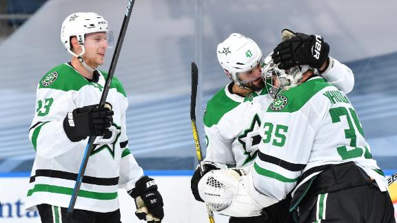 Stars' dominant 2nd period extends series lead over Avalanche