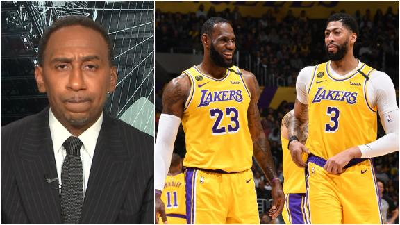 Stephen A. says Lakers need third player to step up to win a title