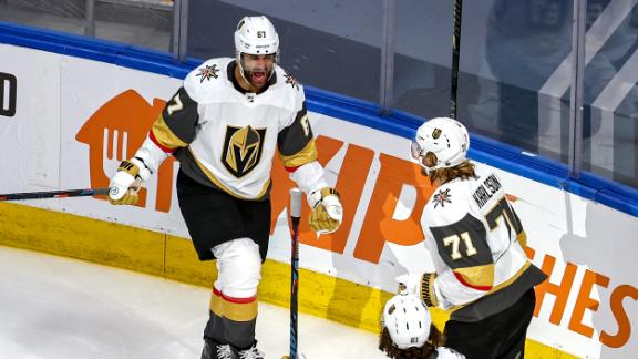 Golden Knights net 3 goals in third to secure win vs. Canucks