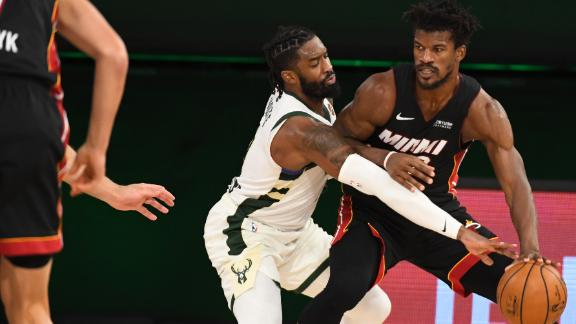 Butler goes off for 40 points in Game 1 win vs. Bucks