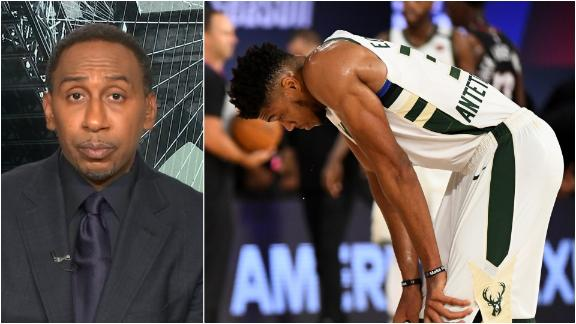 Stephen A.'s message to Giannis: True superstars handle their own business