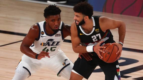 Nuggets survive Jazz's second-half surge to advance