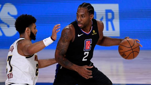 Kawhi's 29 points overpower Nuggets in Game 1 win
